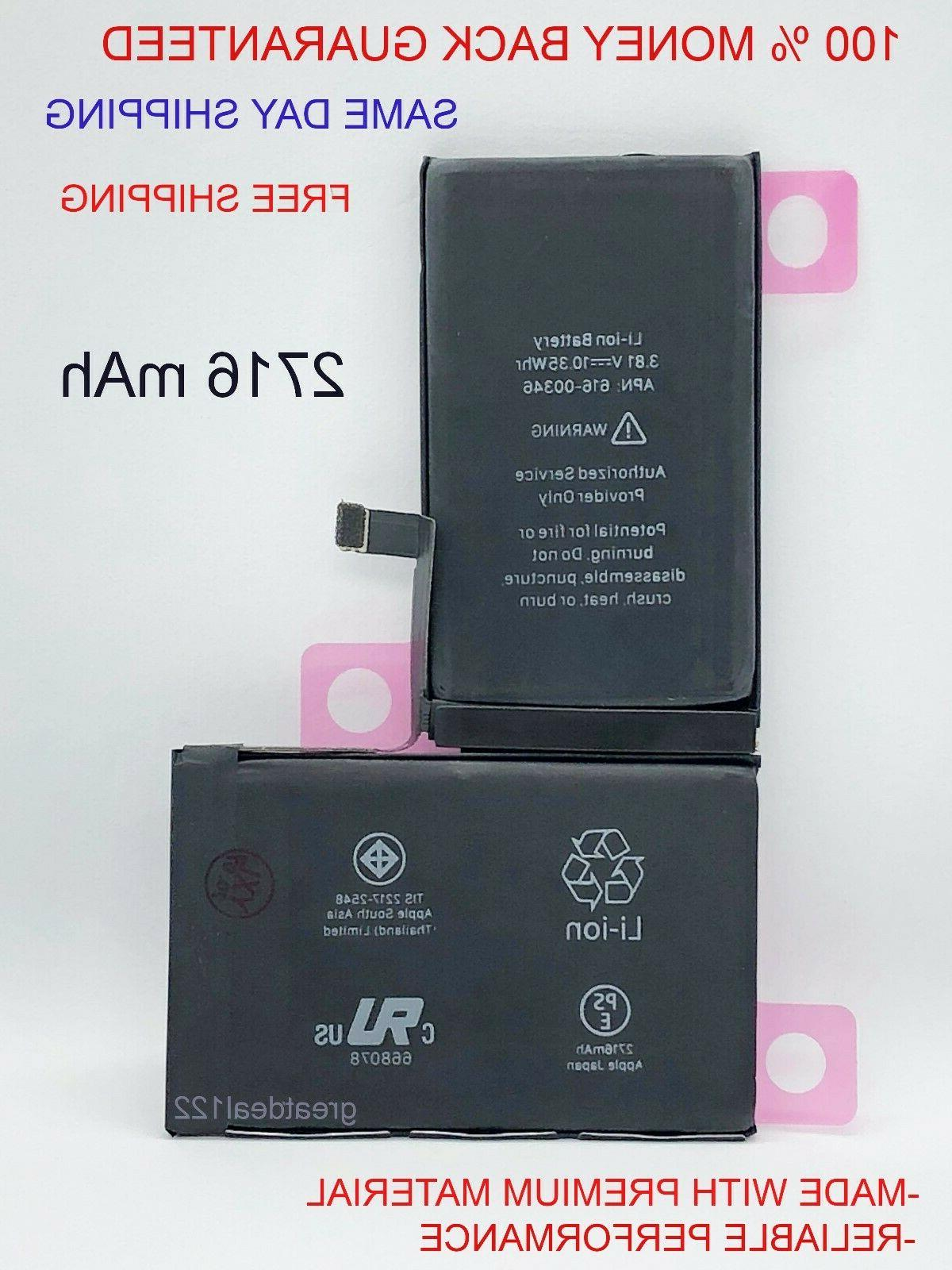 oem replacement battery for iphone x li