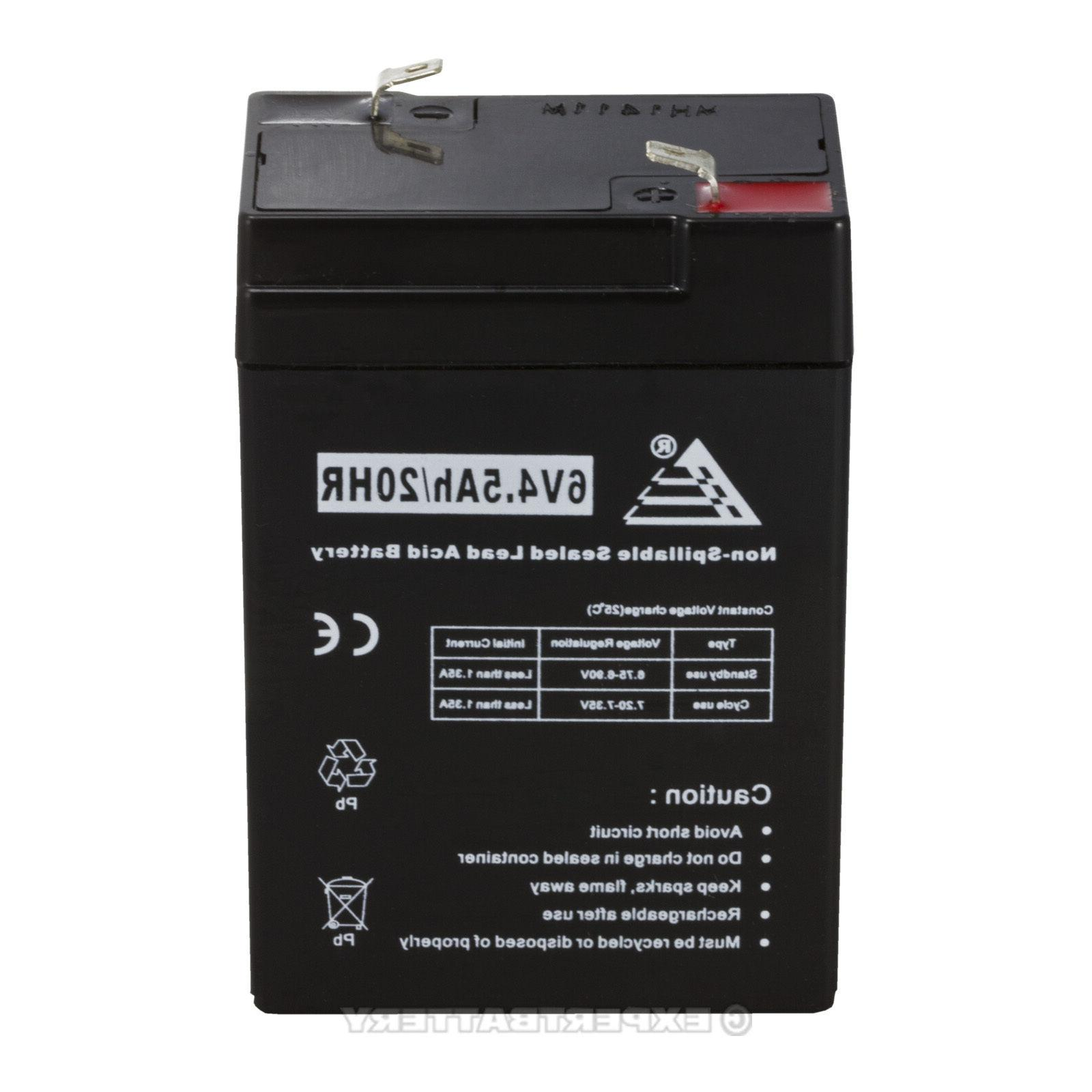 Power-Sonic 6V Battery for Emergency Exit