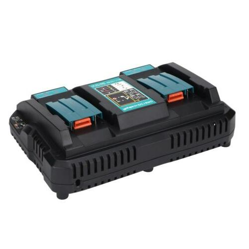 Quick Port Charging Double Charger for Makita 14.4-18V
