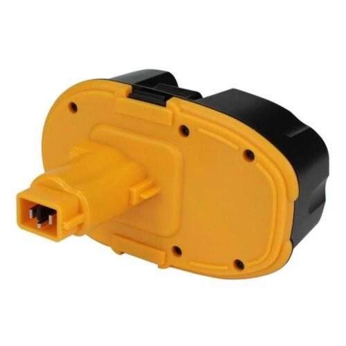 Replace DEWALT 18V XRP Ni-mh Battery DC9096