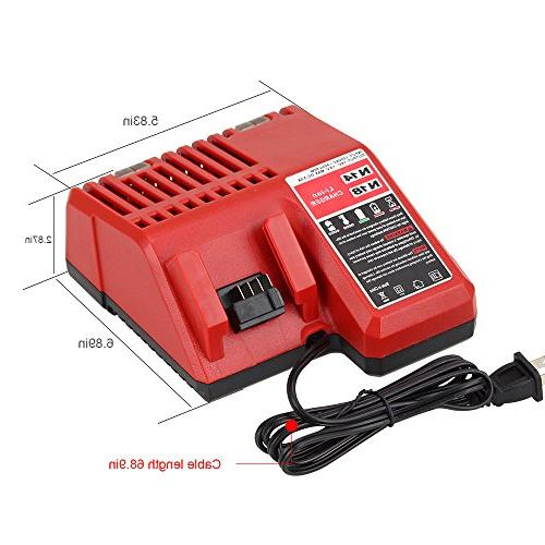 Replace M18 Charger - 18v for 48-11-1815