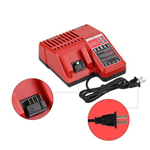 Replace Charger Milwaukee - Combo Charger for 48-11-1815