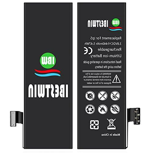 IBESTWIN 1440mAh Replacement Battery for iPhone 5 with Tool Adhesive Instruction -