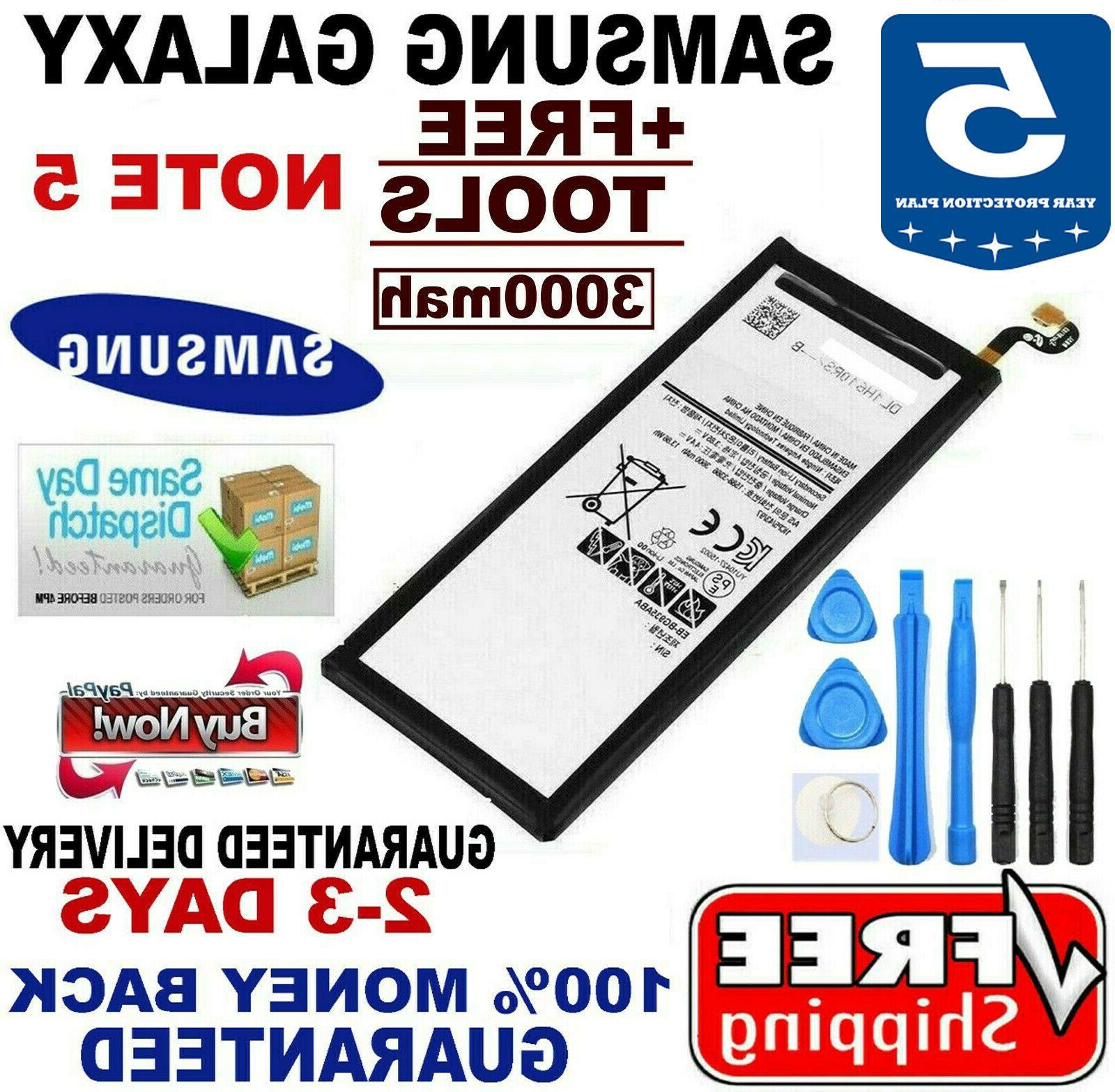replacement battery for galaxy note 5 oem