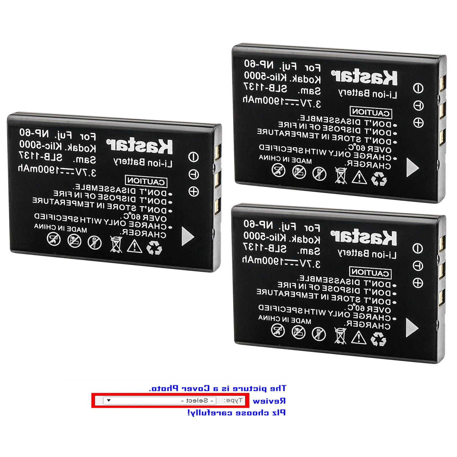 Kastar Replacement Battery for HP R07 & Photosmart R827 Phot
