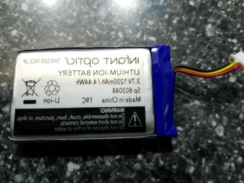 replacement battery for infant optics dxr 8