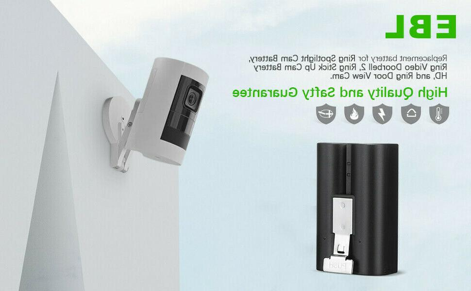 Ring Rechargeable Battery Video Camera Stick US