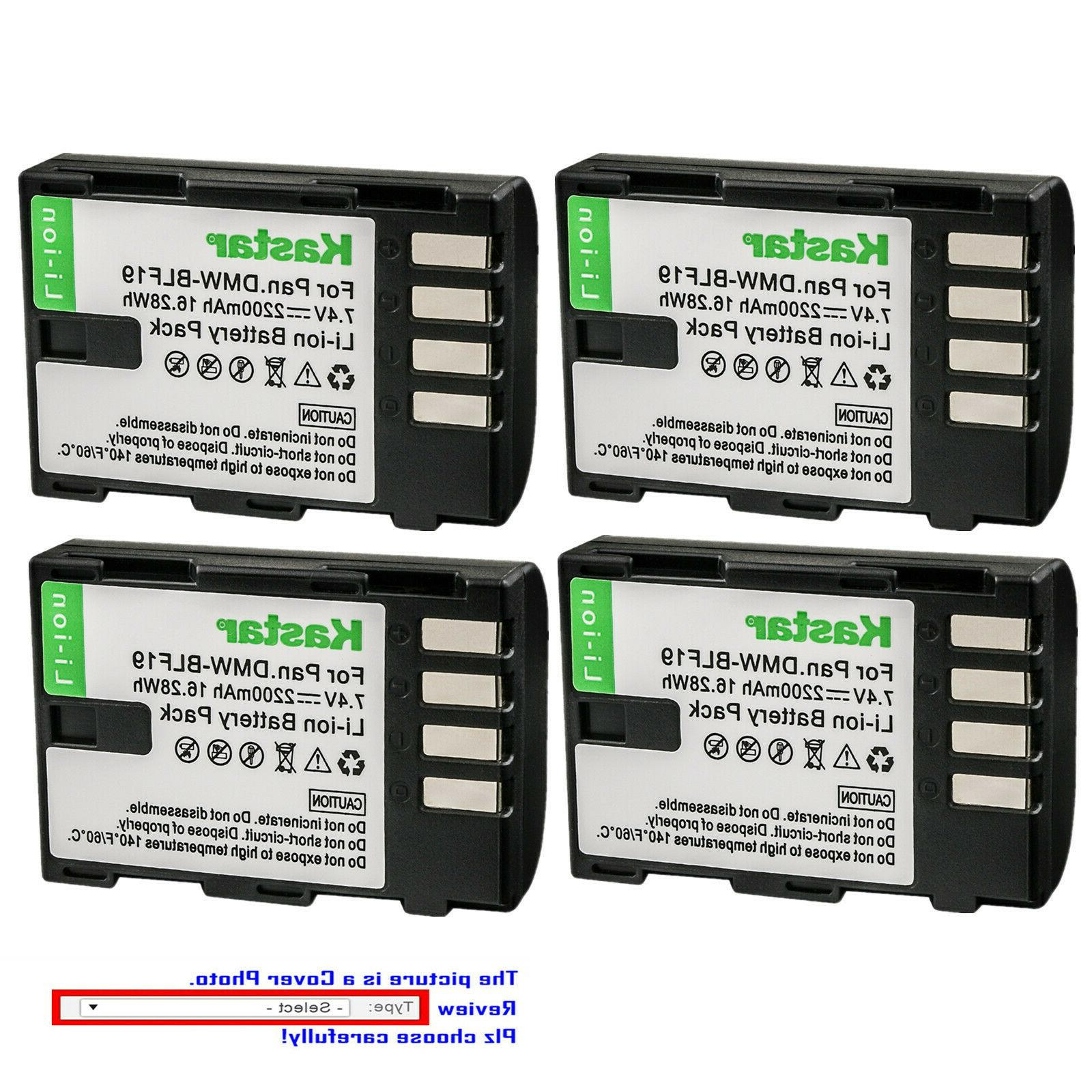 Kastar Replacement Battery for Canon LP-E8 LC-E8
