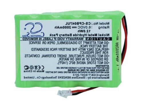 replacement battery for universel aa x 5