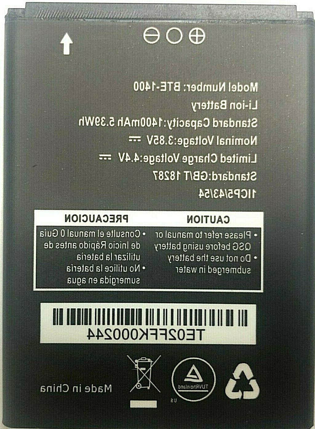replacement battery for verizon orbic journey v