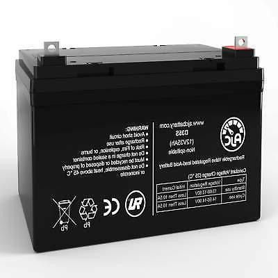Universal Power UB12350 Group U1 12V 35Ah Wheelchair Battery