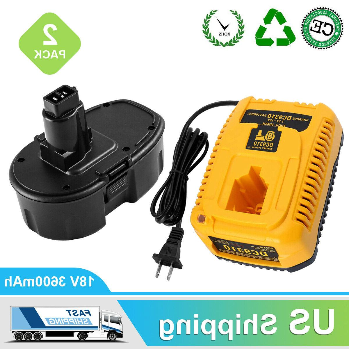replacement for dewalt 18v xrp dc9096 battery