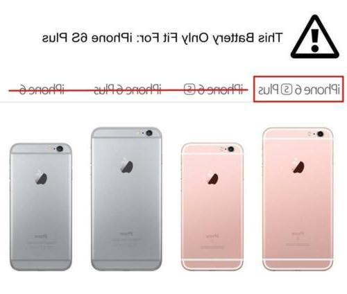 Cooligg Replacement 2750mAh Battery Apple 6s Plus