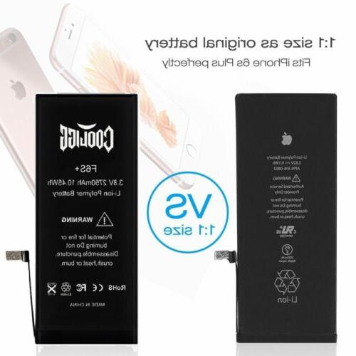 Cooligg Replacement 2750mAh Li-ion Battery 6s Plus