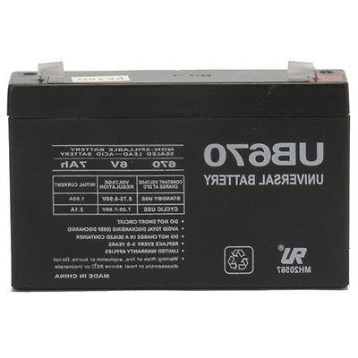 ride on replacement 6v 7ah battery