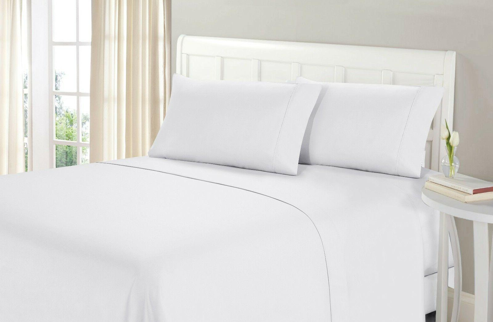 RV SHORT QUEEN 1800 THREAD COUNT BED SHEET SET .  Blow out!