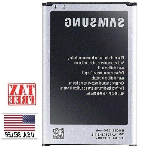 New for Samsung Galaxy Note 3 Replacement Battery B800BU/BC/