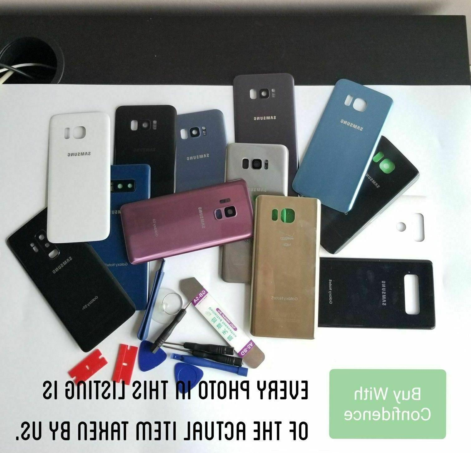 Samsung Galaxy S8/S8+ Back Glass Cover Door Housing