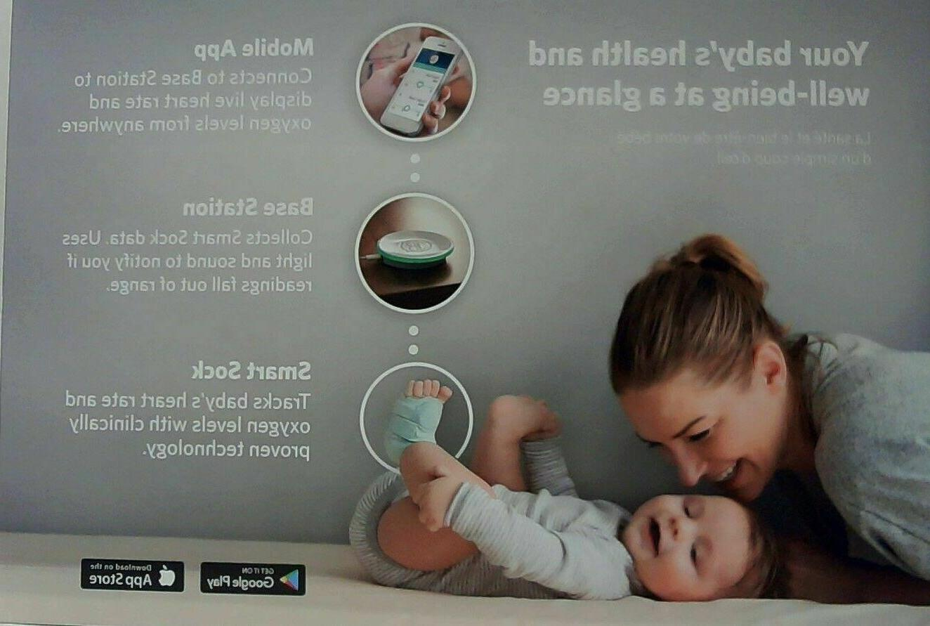 Owlet Sock Baby Monitor - Your Heart & Levels
