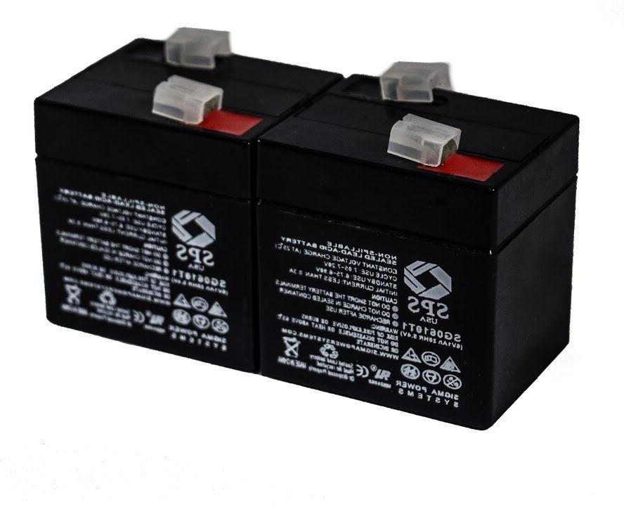 SPS Brand 6V 1Ah Replacement Battery for Coleman FP626 .