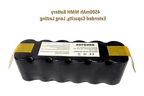 Areotek Replacement Battery Compatible Roomba 600 800 531 550 552 620 630 760 780 790 870 880 Robots
