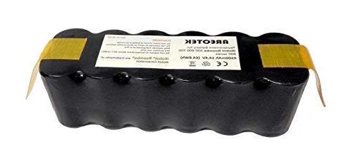 upgraded 4500mah irobot replacement battery