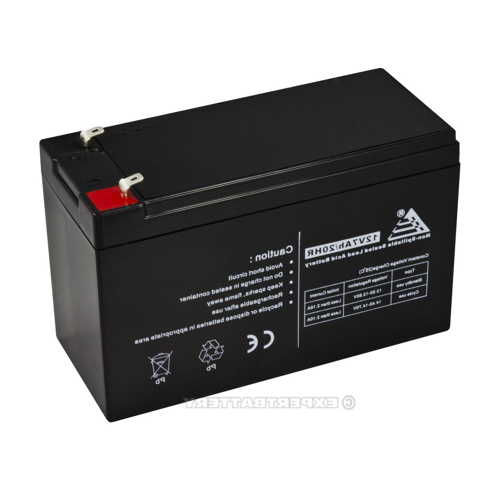 12V CA1270 Replacement Battery for Power-Sonic Battery PS-1270-F1