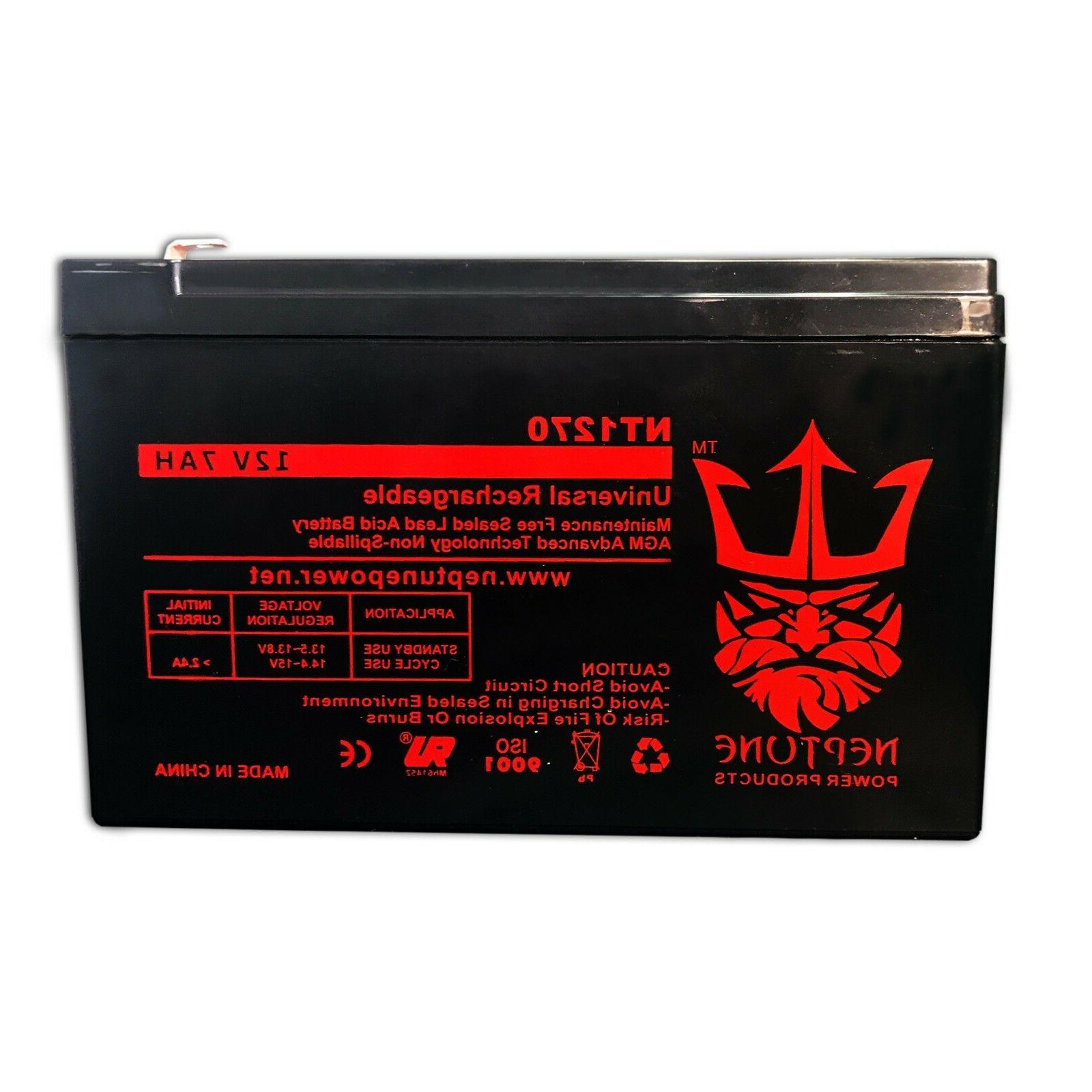 Yeuyang 12V 7AH Replacement Pack