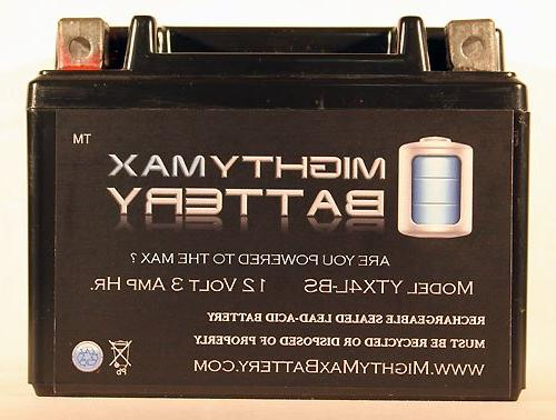 Mighty Max Battery YTX4L-BS Replacement YT4L-12 Motorcycle Scooter brand product