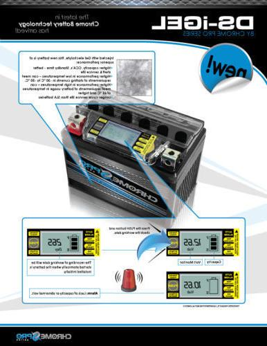 YTX9-BS Replacement Battery for 2011 Generator