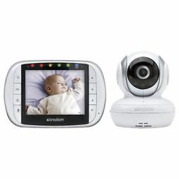 "Motorola MBP33XL 3.5"" Video Baby Monitor with Digital Zoom,"