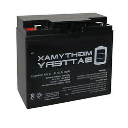 Mighty Max 12V 18AH F2 SLA Replacement Battery for Universal