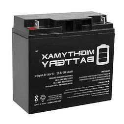 Mighty Max 12V 18AH SLA Sealed Lead Acid Replacement Battery