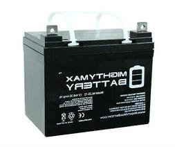 Mighty Max 12V 35Ah SLA Battery Replacement for Sevylor Minn