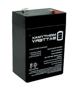 Mighty Max 6V 4.5AH SLA Battery Replacement for Coleman 5348