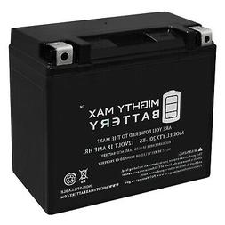 Mighty Max YTX20L-BS Replacement Battery for Deka ETX16L, ET