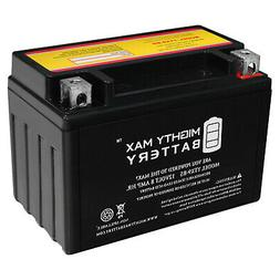 Mighty Max YTX9-BS Battery Replacement for Suzuki LTZ400 Qua