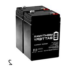 ML4-6 - 6V 4.5AH Lithonia ELB06042 SLA Replacement Battery -