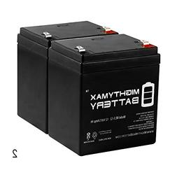 Mighty Max Battery ML5-12 - 12V 5AH Replacement Battery for
