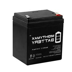 Mighty Max Battery ML5-12 - 12V 5AH Replacement for MK ES5-1