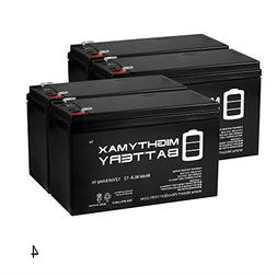 Mighty Max Battery ML8-12 - 12V 8AH Replacement for GT12080-