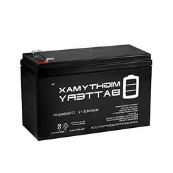 Mighty Max Battery ML8-12 - 12V 8AH Replacement for APC Back