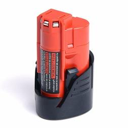 New 12V 1.5Ah Li-ion Replacement Battery for Milwaukee M12 4