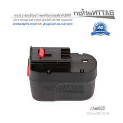 NEW 12V 1500mAh Ni-Cd Replacement Battery for Black & Decker