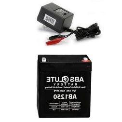 NEW AB1250 12V 5AH Replacement Battery Roketa ES-46 E-Scoote