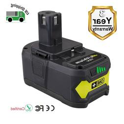 New 18V 5.0Ah High Capacity Li-ion Replacement Battery for R