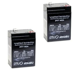 NEW 2PK UB645 6V 4.5AH Replacement Battery for 2 Million Can