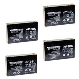 new 4pk upg ub670 6v 7ah replacement
