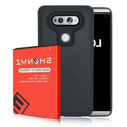 New 8500mAh Replacement Extended Battery + TPU Case For LG V