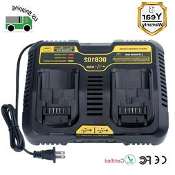 New DCB102BP Replacement Charger for DEWALT 12-Volt MAX/20-V